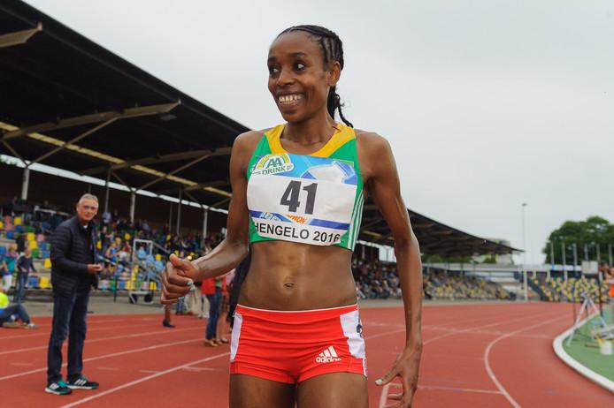 Almaz Ayana heeft zich afgemeld voor de Montferland Run in 's-Heerenberg.
