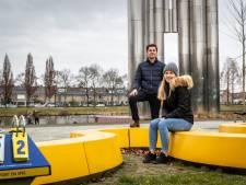 """Anouk (18) in actie voor verloederd Henri Dunantpark in Eindhoven: ,,Ik wil niet dat mijn kinderen hier opgroeien"""""""