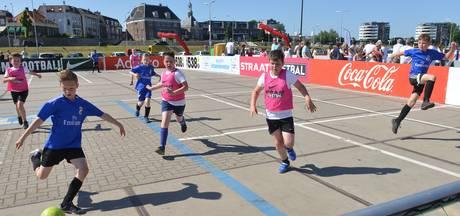 Hoogstandjes, fanatisme en kampioen bij straatvoetbal op Waalkade