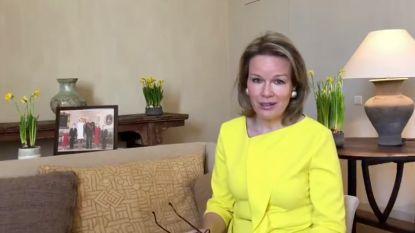 """Koningin Mathilde schrijft open brief aan alle jongeren: """"We hebben jullie energie en begrip nodig om dit samen door te komen"""""""