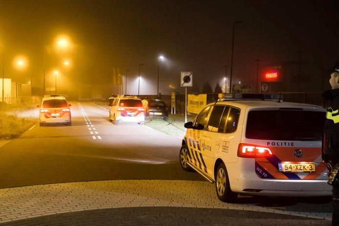 De politie wist de automobilist op te pakken.