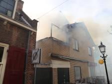 Brand in oude centrum Voorburg: 'Door snel optreden erger voorkomen'