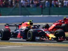 Verstappen had al vroeg in de race remproblemen