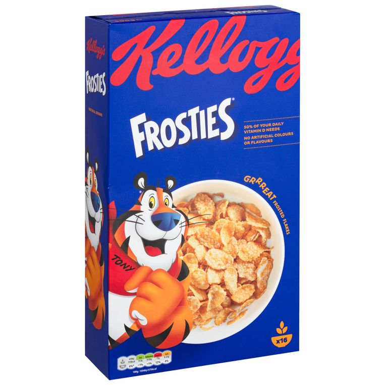 Kellogg's Frosties Beeld