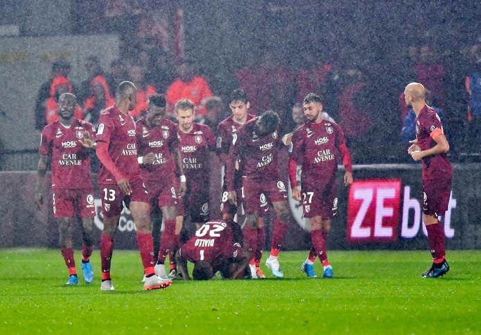 """Le suspect """"a reconnu les faits concernant un joueur du FC Metz"""" (photo), déjà victime de deux cambriolages."""
