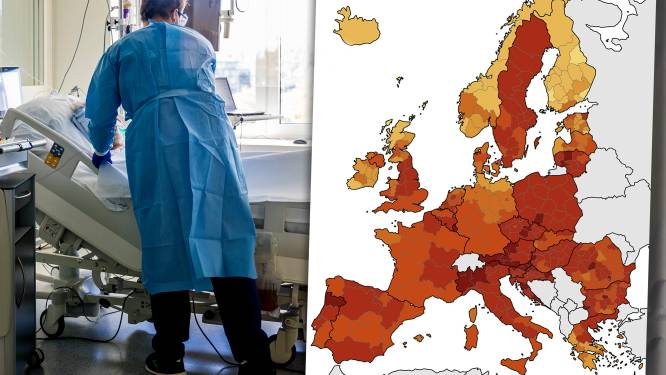 België stijgt in top tien van Europese landen die coronavirus best onder controle hebben