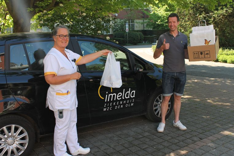 Het diabetesteam kan rekenen op vrijwillige materiaalbezorgers.