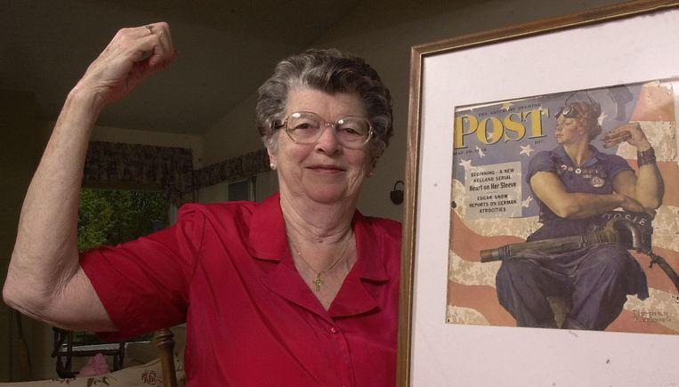 Doyle claimde  vrouw achter de poster  te zijn, maar dat bleek niet waar.
