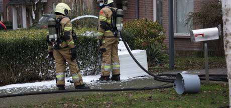 Droogtrommel Venhorst vat vlam, buurman voorkomt erger