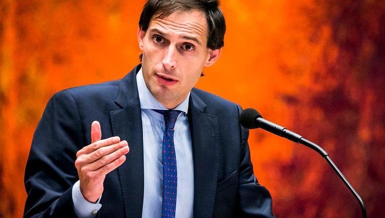 Minister Wopke Hoekstra van Financiën Beeld ANP