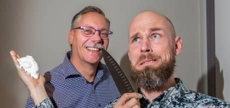 Deze mannen zeggen gedag tegen hun eeuwige baard en snor en zamelen geld in voor KiKa