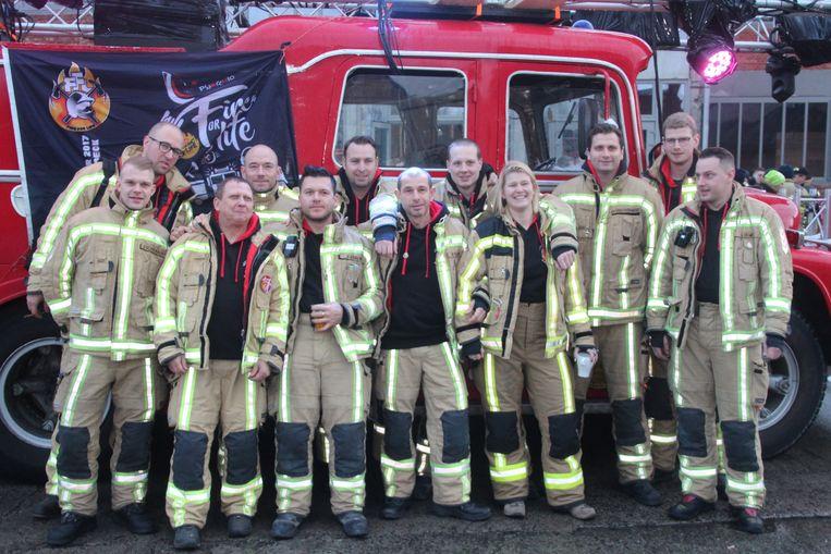 Brandweerpost Wetteren stuurt een delegatie naar Fire For Life.