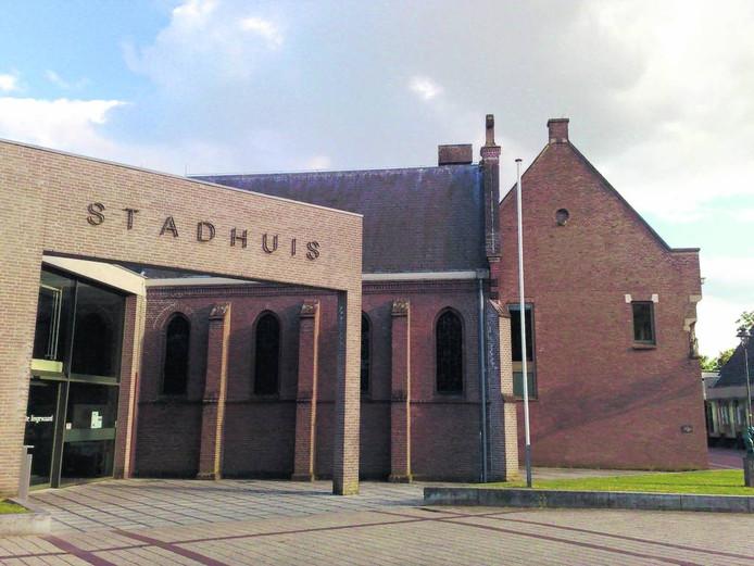 Het Stadhuis in Huissen.