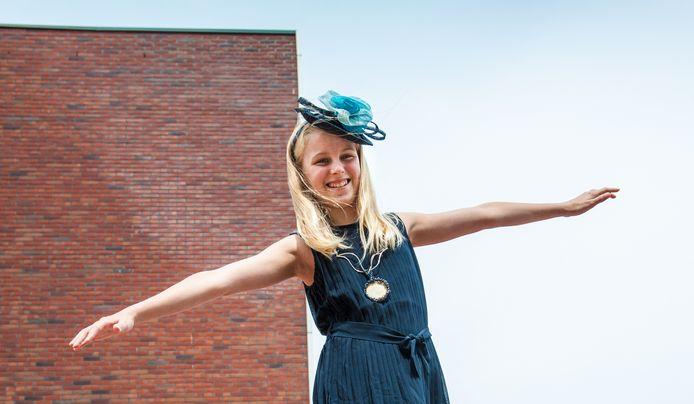Talitha Schaddelee, huidige kinderburgemeester van Gouda.