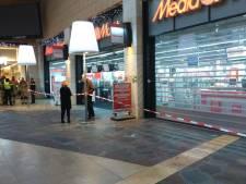 MediaMarkt Enschede hele donderdag dicht als gevolg van brand