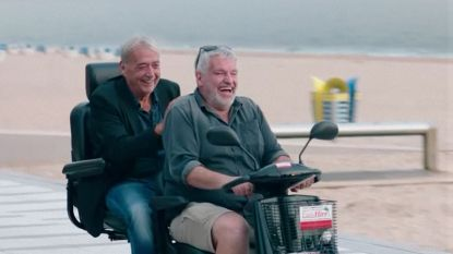 """""""Onze vrienden zullen hun ogen uitwrijven. Zo kennen ze ons niet"""": Jan Van Eyken en Pascal Braeckman wanen zich gepensioneerd"""