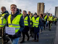 Handweigering zet kwaad bloed: Rotterdamse gele hesjes voortaan in het oranje