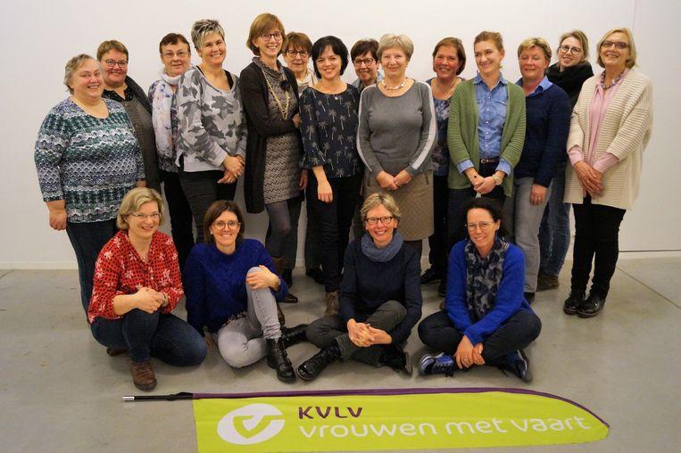 Het KVLV-bestuur van Lichtervelde.