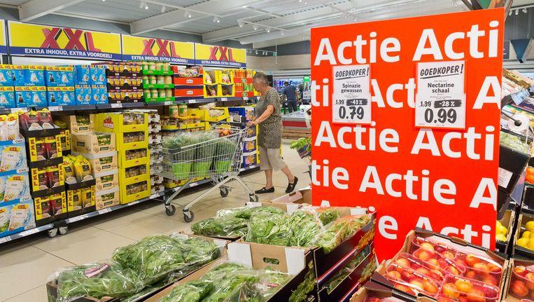 Aanbiedingen bij supermarkt Lidl Beeld anp