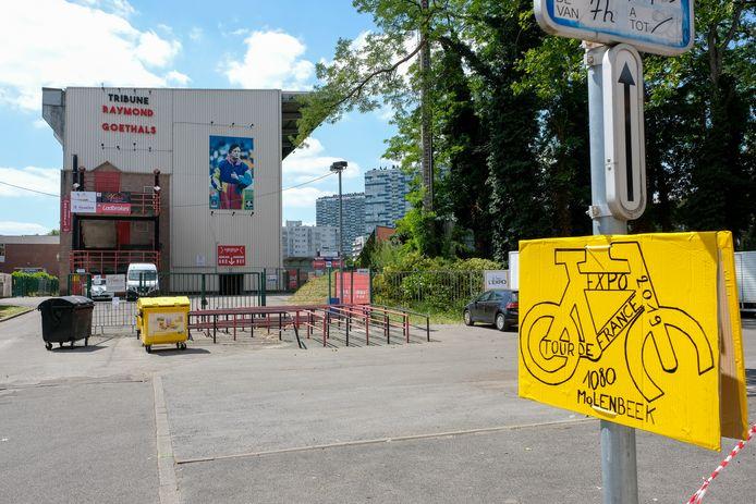 Ronde van Frankrijk voorbereidingen: Molenbeek