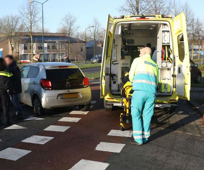 Ongeluk op Vierhoeksingel in Oss.