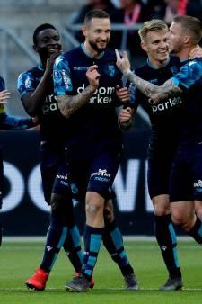 Matavz zet Vitesse met uitgoal op koers van Europa