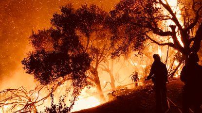 Californië zet bijna 6.000 brandweerlieden in