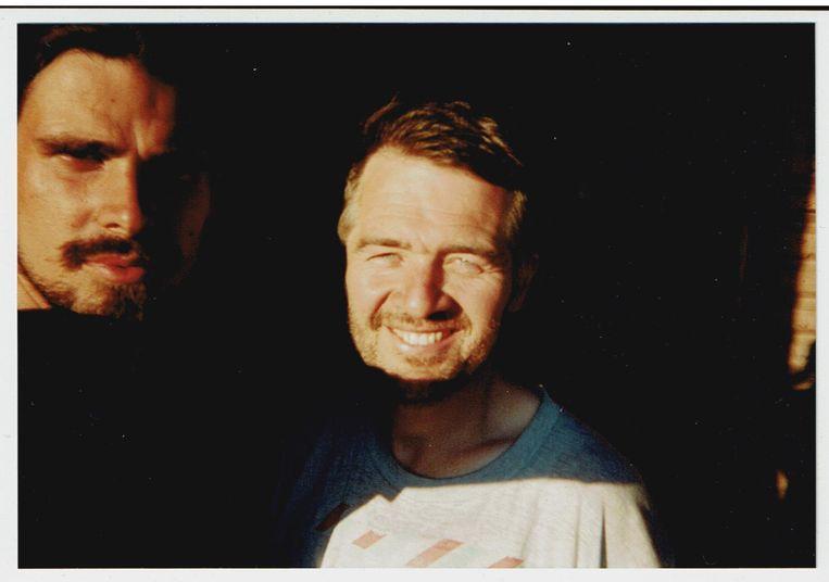 Zelfportret (Oregon 1996) Beeld Jan Hertoghs
