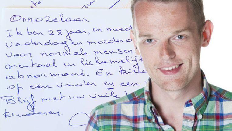 MNM-presentator Tom De Cock wordt in een briefje aangevallen om zijn geaardheid. Hij heeft de tekst op sociale media gepost en is op zoek naar de afzender.