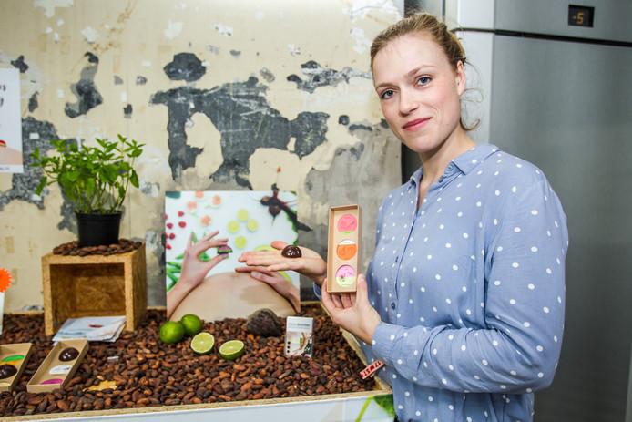 Naomi Jansen ontwikkelde gezonde bonbons voor zwangere vrouwen.