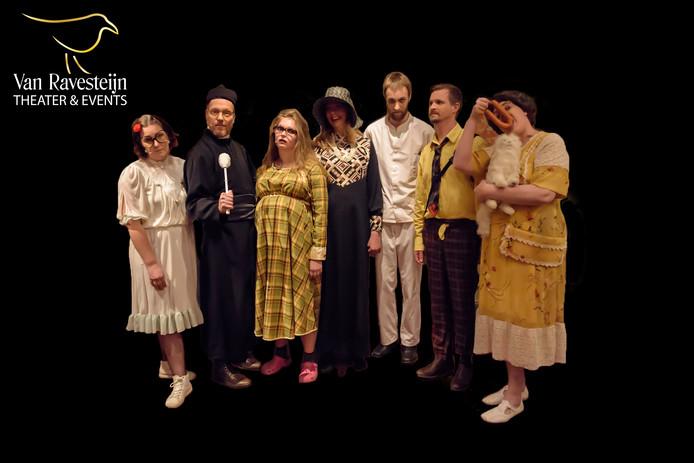 De cast van De Bruiloft.