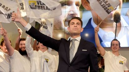"""Vlaams Belang-voorzitter Van Grieken: """"Het is een zondag van hoop"""""""