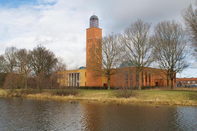 De El Fath Moskee in Liendert.