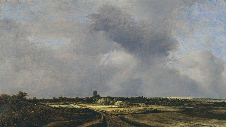 Gezicht op Naarden (1647) van Jacob van Ruisdael. Beeld Museum Thyssen-Bornemisza