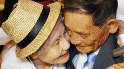 Tranen bij Koreaan Sang Chol (72)  als hij zijn moeder (92) terugziet na 68 jaar