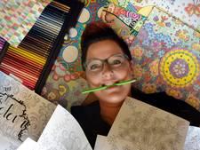Een kleurboek voor grote mensen is de droom van Karin