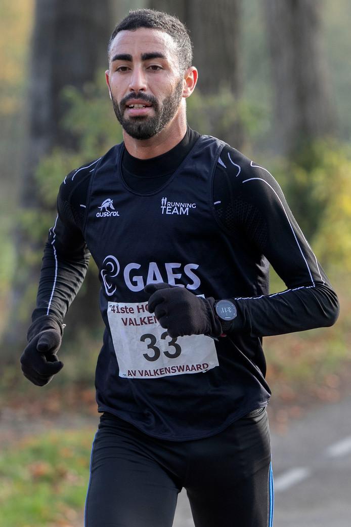 Winnaar Khalifa Zarhnoun.
