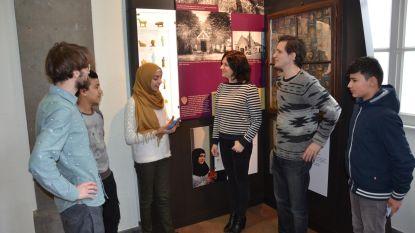 OKAN-leerlingen exposeren in stadsmuseum