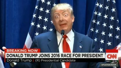 Dolkomisch en akelig tegelijk: virale 'Deepfake'-creatie is mix van Donald Trump en… Mr. Bean