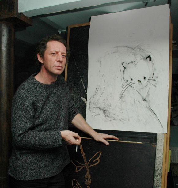 Kunstenaar Franky Cane Moerbeke-Waas