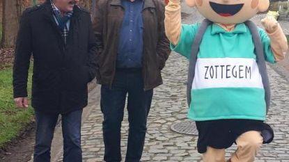 Mascotte van de Ronde Kleine Flandrien komt tot leven