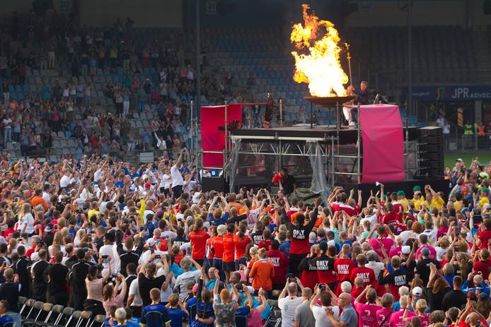 De openingsceremonie van de Special Olympics 2018 in Doetinchem.