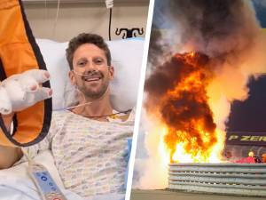 "Un terrible crash et Romain Grosjean s'en sort bien: ""Dire que je n'étais pas fan du halo"""