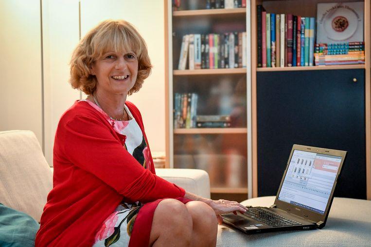 Kristin (55) woont in het Vlaams-Brabantse Heverlee...