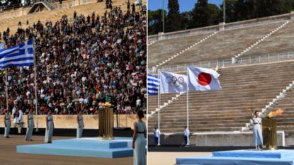 Troosteloos begin van de Spelen: groot contrast bij aloud olympisch vlamritueel tussen 2016 en vandaag