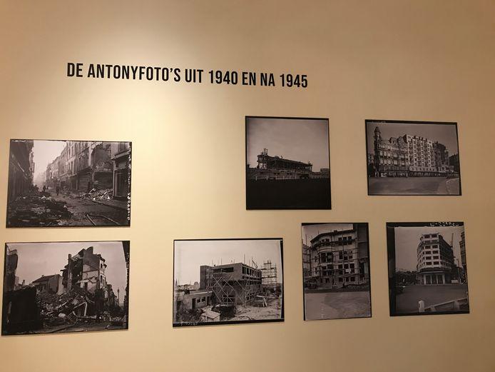 Een resem foto's van Antony vallen te bezichtigen bij de expo
