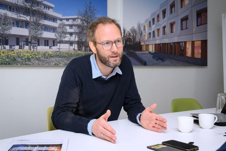 Reimar von Meding, architect en algemeen directeur KAW. Beeld Martin Wengelaar