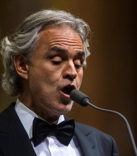 Andrea Bocelli komt na 14 jaar met nieuwe muziek