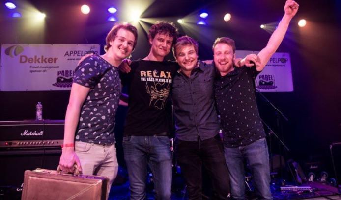De Zaltbommelse band Spark of Sanity wint Parel van de Betuwe.