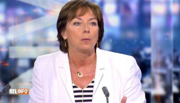 Frédérique Jacobs, porte-parole interfédérale du centre de crise